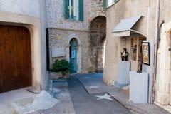 Het dorp van Mougins, Frankrijk Stock Afbeeldingen