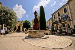 Het dorp van Mougins, Franse riviera. Royalty-vrije Stock Afbeeldingen