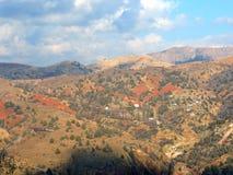 Het dorp van Moutain Royalty-vrije Stock Fotografie