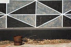 Het Dorp van Ndebele (Zuid-Afrika) Stock Afbeelding