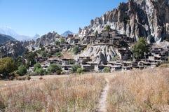 Het dorp van Nepal Stock Fotografie