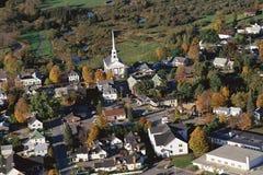 Het dorp van New England Stock Afbeelding
