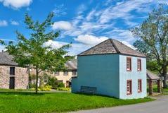 Het dorp van Newmarket van Hesket. Stock Foto