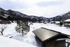 Het dorp van Ogimachi Stock Foto