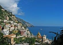 Het dorp van Positano Royalty-vrije Stock Afbeeldingen
