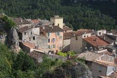 Het dorp van Provencal Stock Afbeeldingen