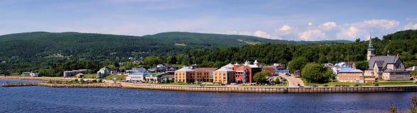 Het Dorp van Quebec Stock Afbeelding