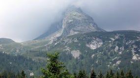 Het dorp van San Bernardino Zuidelijke Zwitserse Alpen royalty-vrije stock foto's