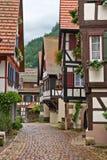 Het dorp van Schiltach in Duitsland Stock Foto's