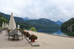 Het dorp van Schwangau Royalty-vrije Stock Foto's