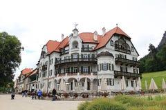 Het dorp van Schwangau Royalty-vrije Stock Fotografie