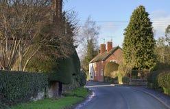 Het dorp van Shropshire stock afbeeldingen