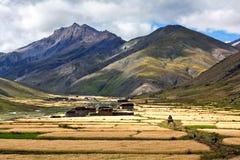 Het Dorp van Tarap van Dho in Dolpo, Nepal royalty-vrije stock fotografie