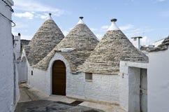 Het Dorp van Trulli - Alberobello, Italië Royalty-vrije Stock Fotografie