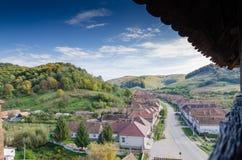 Het dorp van Valeaviilor Stock Foto