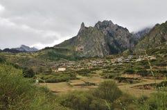 Het dorp van ZhaGaNa Royalty-vrije Stock Fotografie
