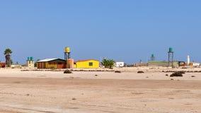 Het dorp Wlotzkasbaken, Namibië van de woestijn Royalty-vrije Stock Fotografie