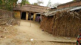 Het dorpshuis van India royalty-vrije stock foto's