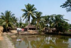 Het dorpsleven van Sunderban, India Royalty-vrije Stock Fotografie