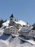 Het dorpspanorama van de berg Royalty-vrije Stock Afbeeldingen