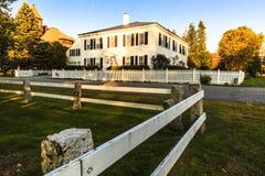 Het Dorpsscène van Vermont Royalty-vrije Stock Afbeelding