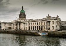 Het Douanehuis in Dublin Stock Fotografie