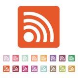 Het draadloze pictogram Draadloos Netwerkpictogram royalty-vrije illustratie