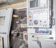Het draaien machine stock afbeelding