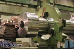 Het Draaien van de draaibank Roestvrij staal Royalty-vrije Stock Foto