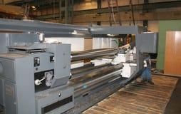 Het Draaien van de draaibank Roestvrij staal Stock Foto's