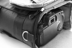 Het dragen geval voor de camera Ondiepe DOF Stock Afbeelding