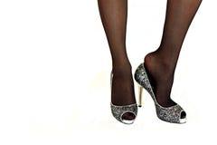 Het dragen van Schoenen Stock Fotografie
