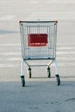 Het dragende voedsel van het supermarktkarretje, Stock Afbeeldingen