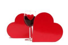 Het drankje van de liefde stock fotografie
