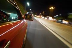 Het drijven bij Nacht Royalty-vrije Stock Afbeelding