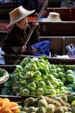 Het drijven market.thailand Stock Afbeelding