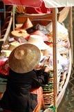 Het drijven markt Stock Afbeeldingen
