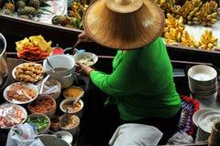 Het drijven markt Stock Foto's