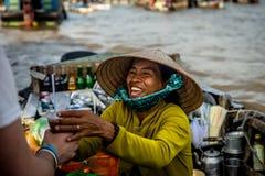 Het drijven Markt Royalty-vrije Stock Foto's