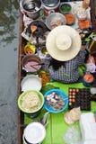 Het drijven Markt Thailand Stock Afbeeldingen