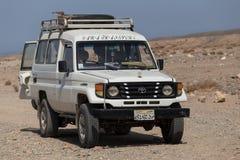 Het drijven op jeeps Royalty-vrije Stock Foto