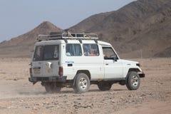 Het drijven op jeeps Royalty-vrije Stock Foto's