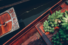 Het Drijven van Amphawa Markt Stock Foto