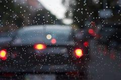 Het drijven van de regen Royalty-vrije Stock Afbeelding
