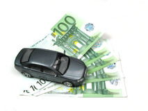 Het drijven van een auto royalty-vrije stock foto's