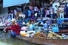 Het drijven van Thailand markt Royalty-vrije Stock Afbeelding