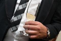 Het drinken Royalty-vrije Stock Afbeelding