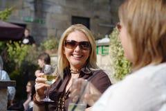 Het drinken van de zomer Royalty-vrije Stock Fotografie
