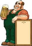 Het drinken van het bier Royalty-vrije Stock Foto