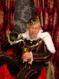 Het drinken van het laatste druppeltje Royalty-vrije Stock Afbeelding